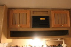 Overhead Storage and Radio